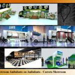 Decoração de showroom